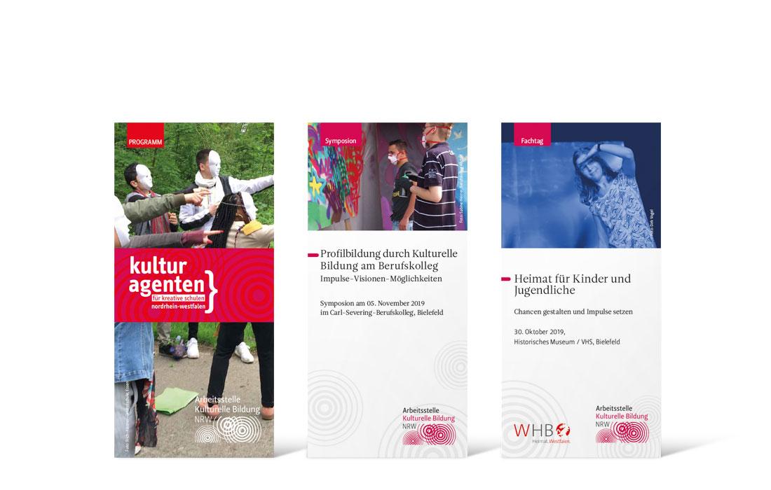 Arbeitsstelle kulturelle Bildung NRW | Flyer