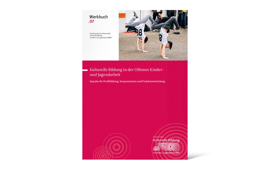 Arbeitsstelle kulturelle Bildung NRW | Werkbuch Titel