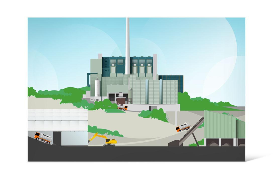 AWG | Visualisierung für die spätere Animation