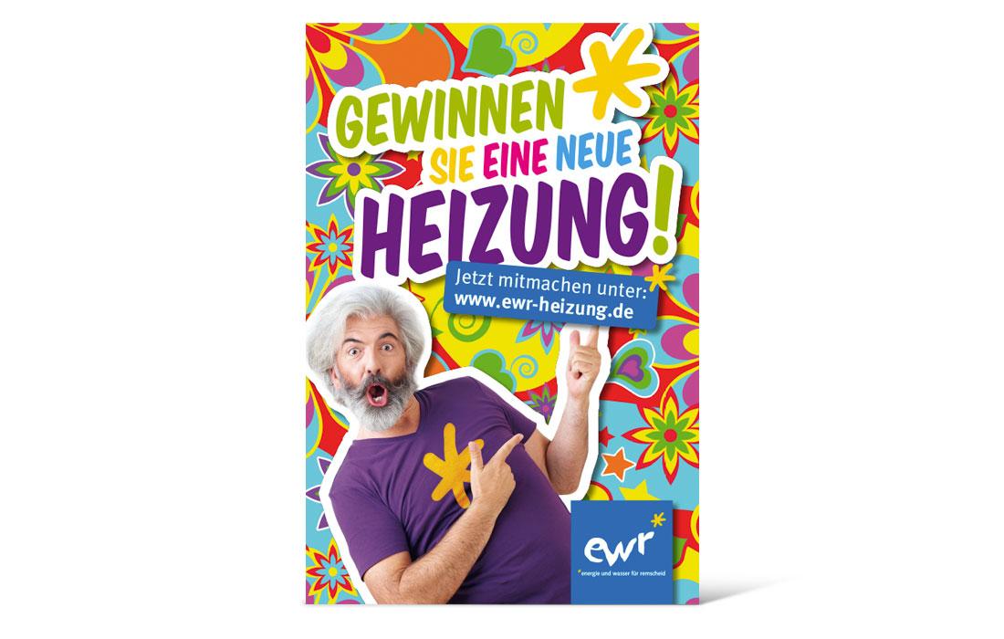 EWR-Heizung   Citylight-Poster