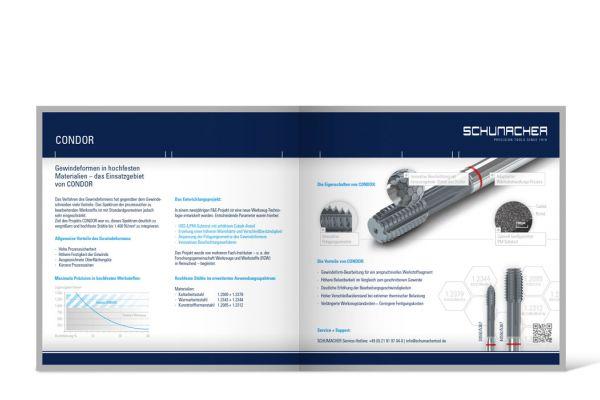 Schumacher Precision Tools | Prospekt Doppelseite