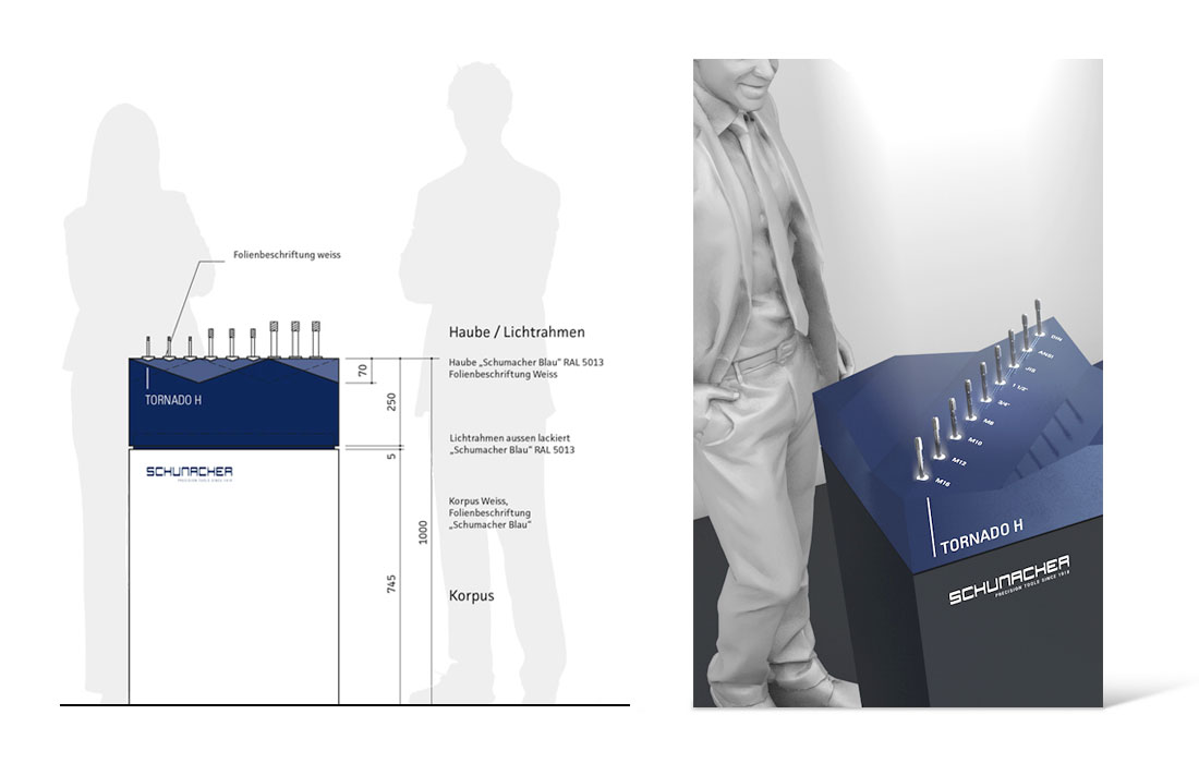 Schumacher Precision Tools | Messe Planung