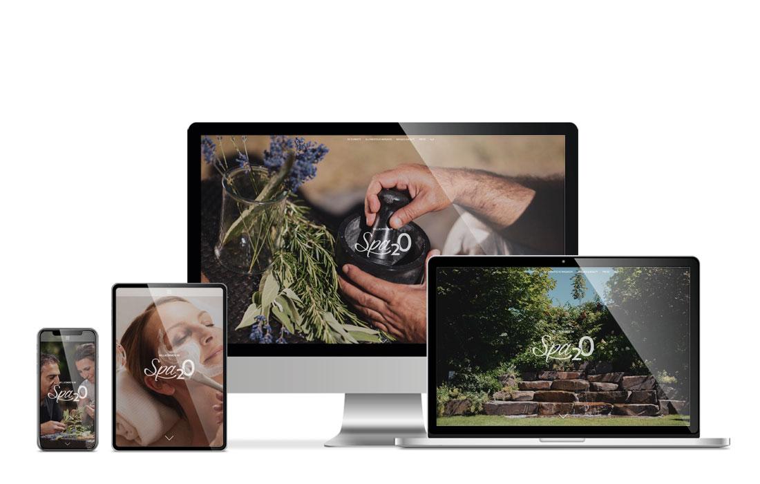 Spa2O | Webseite
