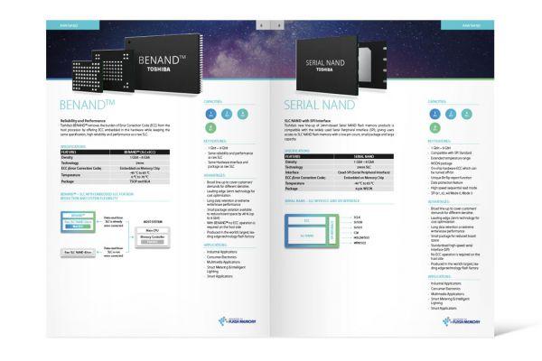 TME Katalog Embedded Flash Memory   Doppelseite