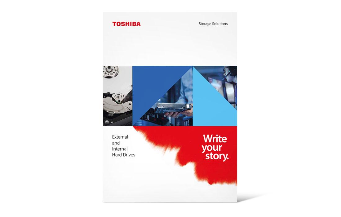 Toshiba | Katalog Storage 2019 Titel