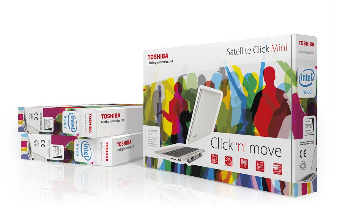 Toshiba | Verpackung