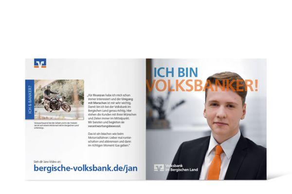 Volksbank Azubi-Kampage | Flyer Innenseite