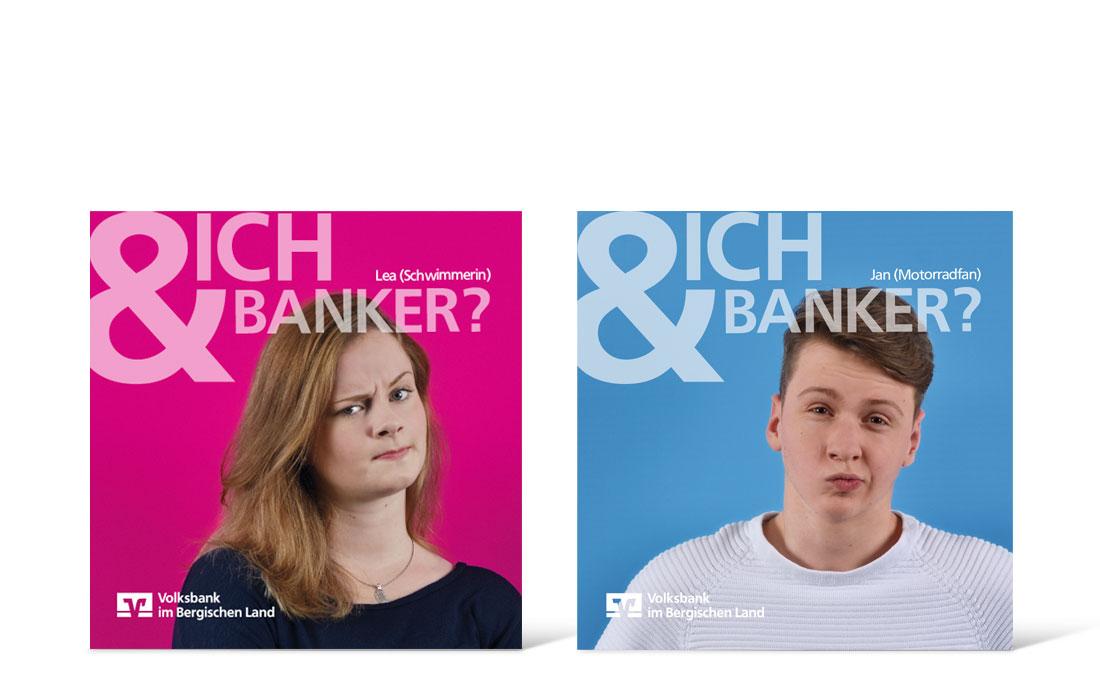 Volksbank Azubi-Kampage | Flyer Titel