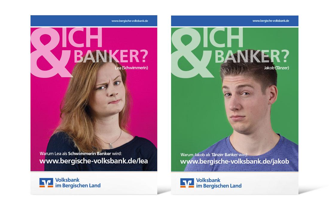 Volksbank Azubi-Kampage | Plakate