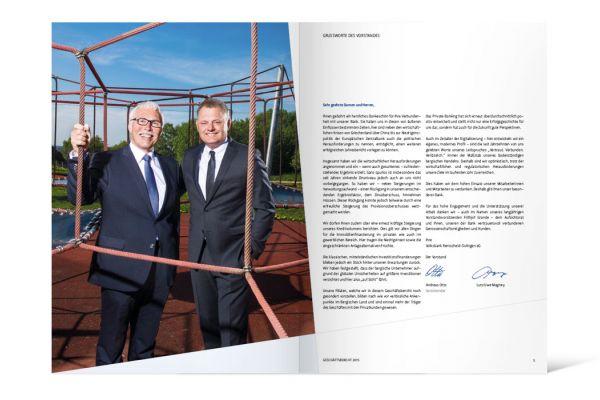 Volksbank vernetzt