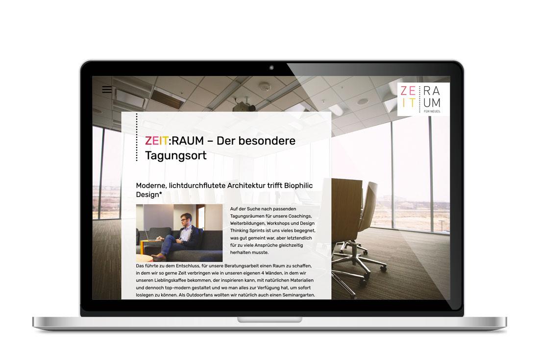 ZEIT:RAUM |Webseite